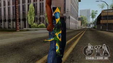 Brasileiro MP5 v2 para GTA San Andreas terceira tela