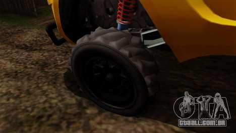 GTA 5 Coil Brawler para GTA San Andreas traseira esquerda vista