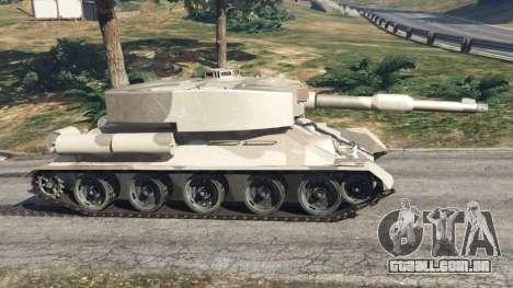 Т-34 personalizado para GTA 5
