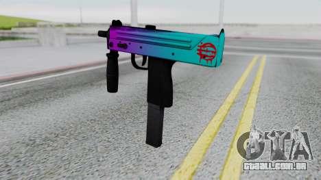 MAC-10 Hotline Miami para GTA San Andreas segunda tela