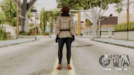 DOA 5 Lisa Hamilton Fashion para GTA San Andreas terceira tela
