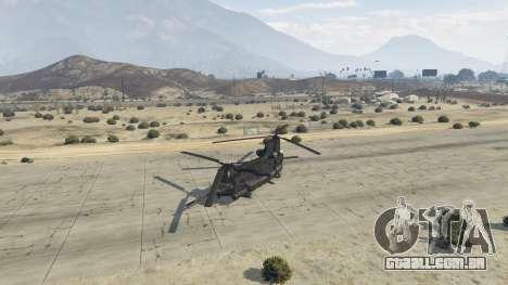 GTA 5 MH-47G Chinook quarto screenshot