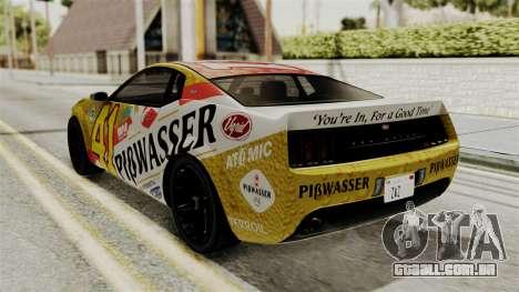 GTA 5 Vapid Dominator SA Style para GTA San Andreas vista interior