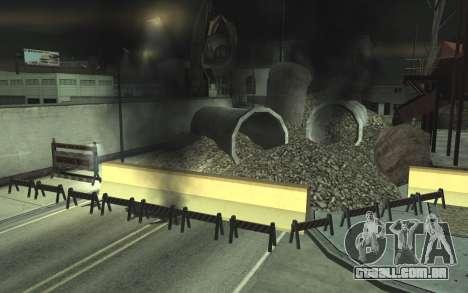 Estrada de reparação de v2.0 para GTA San Andreas