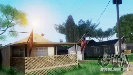Project Reborn ENB Series para GTA San Andreas por diante tela