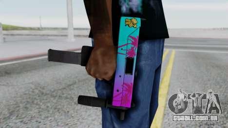 MAC-10 Hotline Miami para GTA San Andreas terceira tela