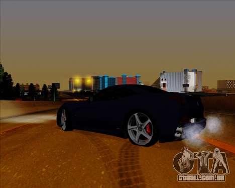 Vitesse ENB V1.1 Low PC para GTA San Andreas por diante tela