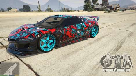 Dinka Jester (Automóvel) Adesivo de Bombardeio д para GTA 5