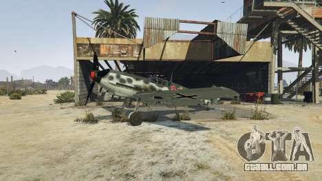 GTA 5 Messerschmitt BF-109 E3 v1.1 terceiro screenshot