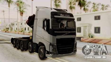 Volvo FH Euro 6 10x4 High Cab para GTA San Andreas