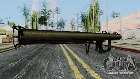 Panzershreck from Battlefield 1942 para GTA San Andreas segunda tela
