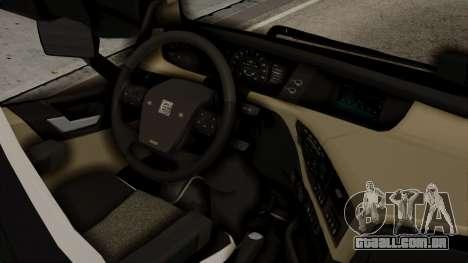 Volvo FH Euro 6 10x4 High Cab para GTA San Andreas vista direita