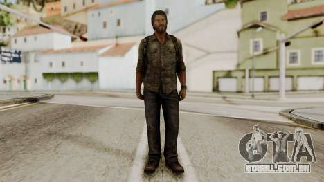 Joel - The Last Of Us para GTA San Andreas segunda tela