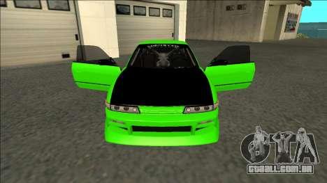 Nissan Silvia S13 Drift Monster Energy para GTA San Andreas vista interior