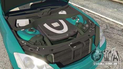 GTA 5 Mercedes-Benz S550 W221 v0.4.2 [Alpha] vista lateral direita