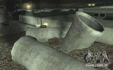 Estrada de reparação de v2.0 para GTA San Andreas sétima tela
