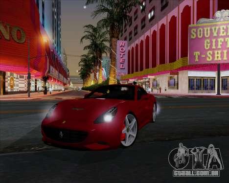 Vitesse ENB V1.1 Low PC para GTA San Andreas sétima tela