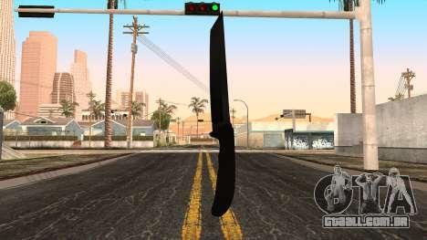 Nova faca para GTA San Andreas terceira tela