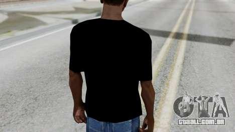 T-shirt from Jeff Hardy v1 para GTA San Andreas terceira tela