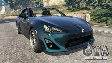 Toyota GT-86 v1.1 para GTA 5