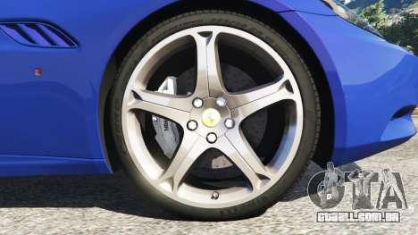 Ferrari California (F149) 2012 [Beta] para GTA 5