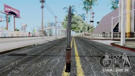 KAR 98 Bayonet from Battlefield 1942 para GTA San Andreas