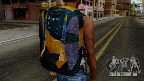 Brasileiro Parachute v2 para GTA San Andreas terceira tela