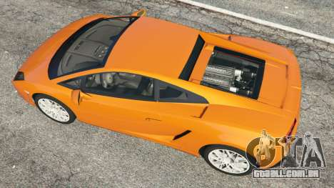 GTA 5 Lamborghini Gallardo LP560-4 voltar vista