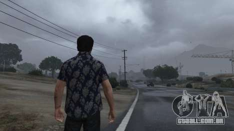 Realistic Thunder and Wind Sound FX para GTA 5
