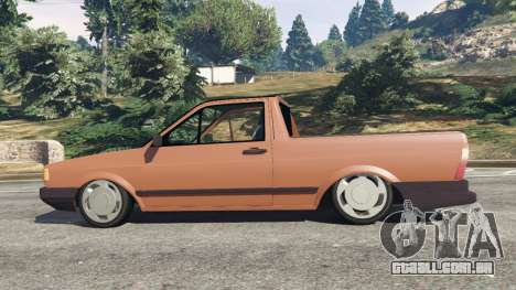 GTA 5 Volkswagen Saveiro Cli 1.6 [Edit] vista lateral esquerda