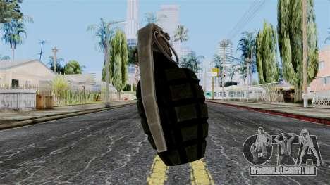 US Grenade from Battlefield 1942 para GTA San Andreas
