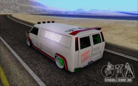 Burrito So Low para GTA San Andreas esquerda vista