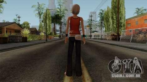 Ashley Robbins - The Another Code R para GTA San Andreas terceira tela