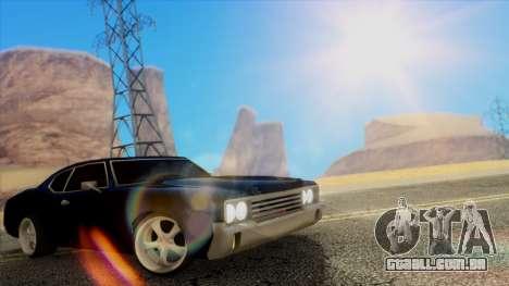 Fantastic ENB para GTA San Andreas sétima tela