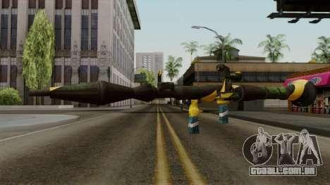 Brasileiro Rocket Launcher v2 para GTA San Andreas segunda tela