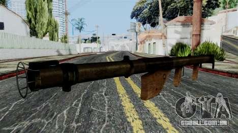 Bazooka from Battlefield 1942 para GTA San Andreas