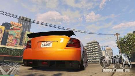 GTA 5 Suspensão a ar v1.0 terceiro screenshot