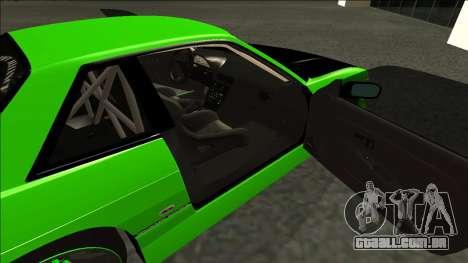 Nissan Silvia S13 Drift Monster Energy para GTA San Andreas traseira esquerda vista