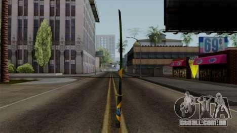 Brasileiro Katana v2 para GTA San Andreas terceira tela