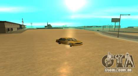 PS2 Graphics for Weak PC para GTA San Andreas terceira tela