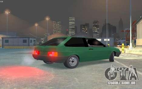 VAZ 2108 para GTA 4 vista direita