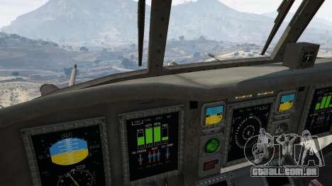 GTA 5 MH-47G Chinook quinta imagem de tela