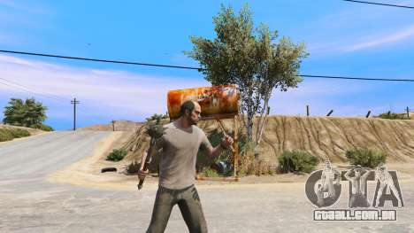 Aço Maça de TES IV: Oblivion para GTA 5