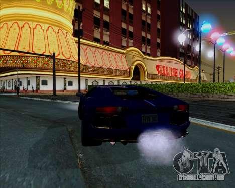 Vitesse ENB V1.1 Low PC para GTA San Andreas sexta tela