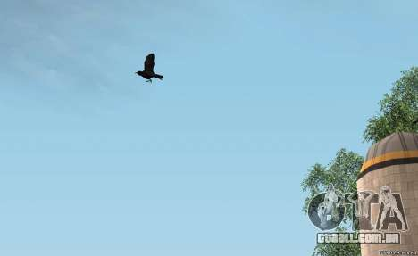 Corvos para GTA San Andreas segunda tela