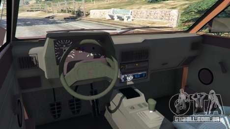 GTA 5 Volkswagen Saveiro Cli 1.6 [Edit] vista lateral direita