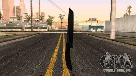 Nova faca para GTA San Andreas segunda tela