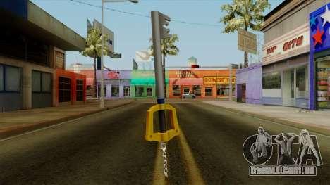 Kingdom Hearts - The Kingdom Key para GTA San Andreas segunda tela