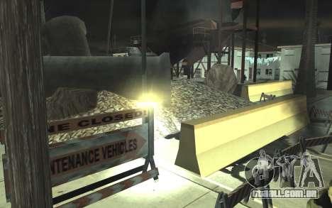 Estrada de reparação de v2.0 para GTA San Andreas oitavo tela