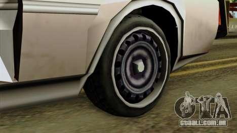 Derby-Clover Beta v1 para GTA San Andreas traseira esquerda vista